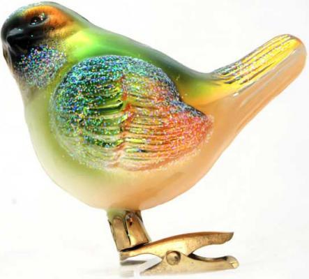 Украшение Winter Wings Канарейка разноцветный 12 см 1 шт стекло 07605 украшение winter wings канарейка 12 см 1 шт разноцветный стекло 07605