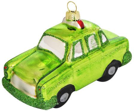 Елочные украшения Winter Wings Машина зеленый 11 см 1 шт стекло N07871 украшение новогоднее подвесное winter wings me to you мишка тедди высота 11 см