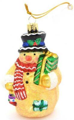 Елочные украшения Winter Wings Снеговик-пряник 8,5 см 1 шт стекло N07796 украшения zuza