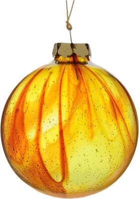 Елочные украшения Winter Wings Шар желтый 8 см 1 шт стекло N079099 цены онлайн