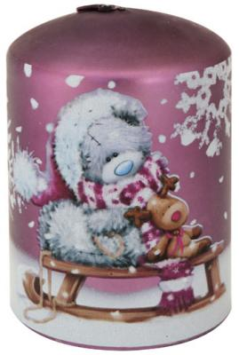 Свеча Winter Wings Мишка Тедди - Me to you 7.5х9.5 см MTY-N160003 mymei room office usb mini water bottle caps humidifier aroma air diffuser mist maker
