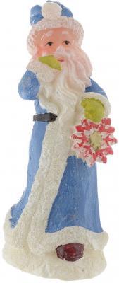 Свеча Winter Wings Дед Мороз со снежинкой 14 см N161165