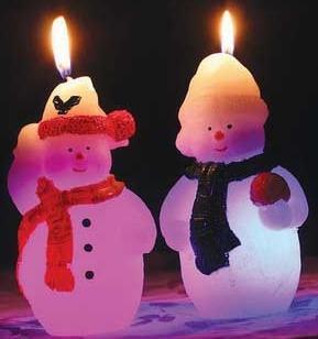 Свеча Winter Wings Снеговик, светящаяся внутри 70х120 мм N161412 в ассортименте свеча winter wings снеговик светящаяся внутри 70х120 мм n161412 в ассортименте