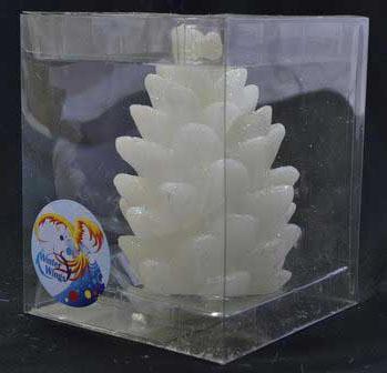Купить Свеча Winter Wings Шишка 10 см N161415, Сервировка стола и свечи