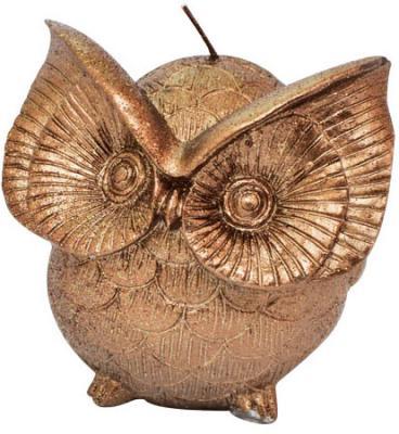 Свеча Winter Wings Сова-Шоколад 9.7х8.7х8.7 см N162411