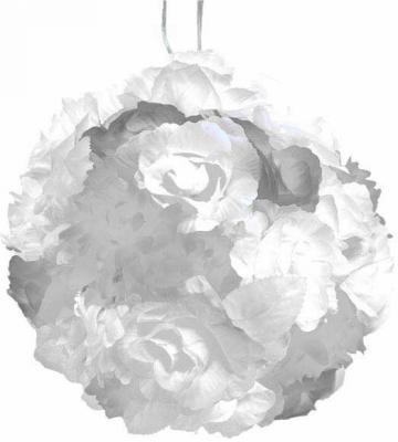 Гирлянда электрическая шар-цветы, 40 ламп, провод 1,50 м, белый N11178