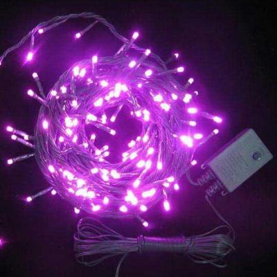 Гирлянда электрическая с супер-яркими лампами, 100 ламп, красные, 6.5 м