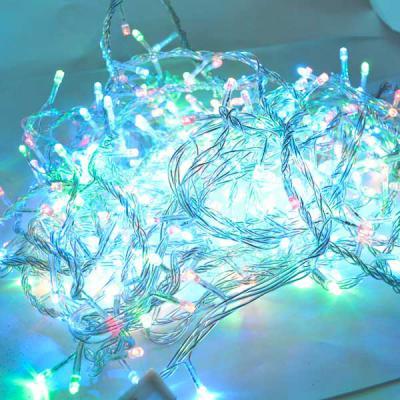 Гирлянда электрическая разноцветная, 320 ламп LED, с контроллером, для внутреннего использования, пр
