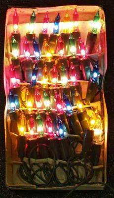 Гирлянда электрическая, 35 ламп, прозрачная, цветная, 2 + 1,5 м N11001