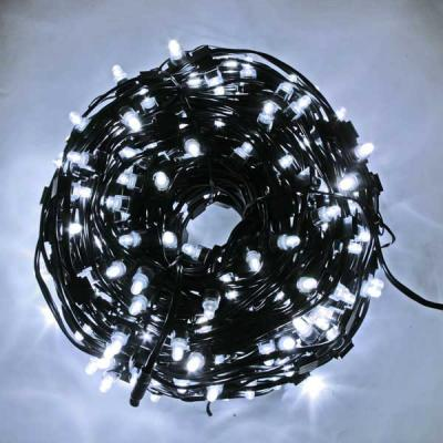 Гирлянда для деревьев уличная LED CLIP LIGHT, LED, 50 м, зеленый кабель N11262 цена и фото