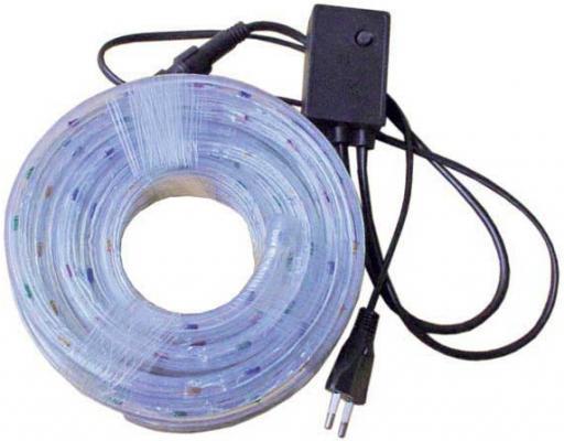 Гирлянда электр. дюралайт,3 жилы,разноцветный,круглое сечение, диаметр 12 мм, 6м, 144 лампы, 622017 N11098
