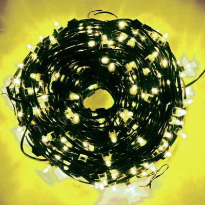 Гирлянда для деревьев уличная LED CLIP LIGHT, LED, 50 м, зеленый кабель|1 цена и фото