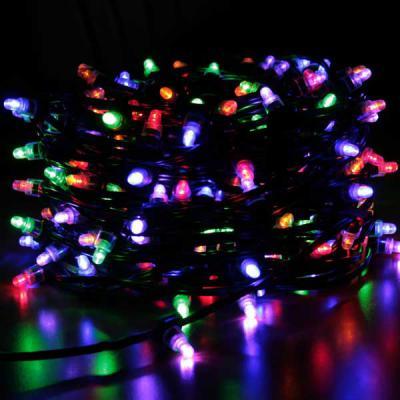 Гирлянда для деревьев уличная LED CLIP LIGHT, 50 м, зеленый кабель|2