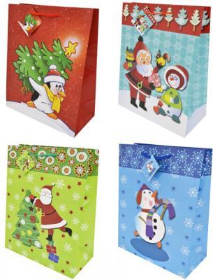 Пакет подарочный Winter Wings N13107/A 260х324х127 мм в ассортименте пакет подарочный бумажный s1511 с днем рождения 3 вида 32x26x13 см в ассортименте