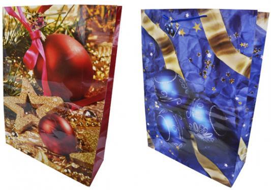 Пакет подарочный бумажный ламинированный, 508х711х178 мм, 2 вида пакет подарочный бумажный s1511 с днем рождения 3 вида 32x26x13 см в ассортименте