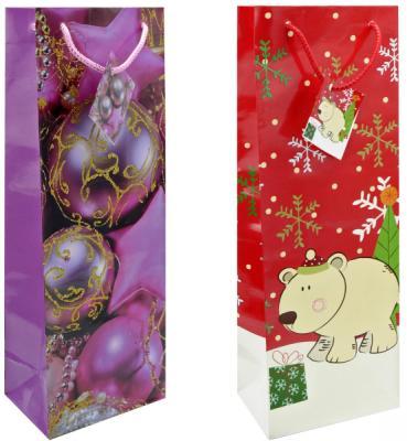 Пакет подарочный бумажный ламинированный, 360х130х85 мм, с блестящей крошкой|1 пакет подарочный бумажный r31375