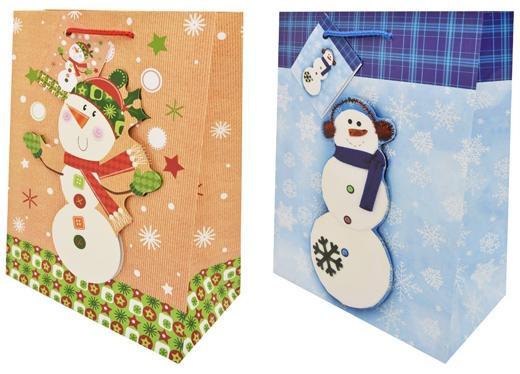 Пакет подарочный бумажный, ламинированный, 180х230х98 мм, с блестящей крошкой, с аппликацией пакет подарочный бумажный r31375
