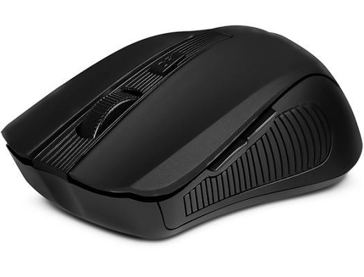 Мышь беспроводная Sven RX-345 чёрный USB SV-014148 цена