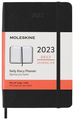 moleskine ежедневник Ежедневник датированный Moleskine Classic Daily Pocket Soft 90x140 мм