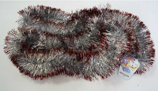 Мишура двухцветная, серебряно- красная, блестящая, 100 мм, длина 2 м yitzhak buxbaum jewish tales of holy women