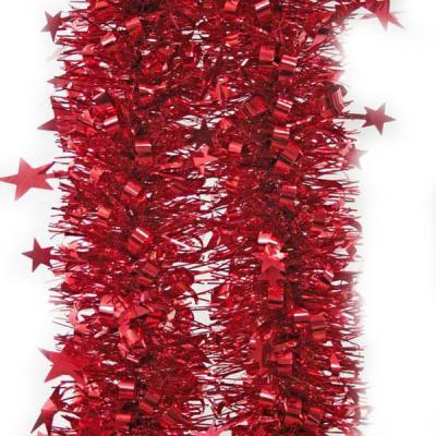 Новогоднее украшение Winter Wings мишура одноцветная 10х200 см украшение новогоднее оконное magic time дед мороз с самоваром двустороннее 30 х 32 см