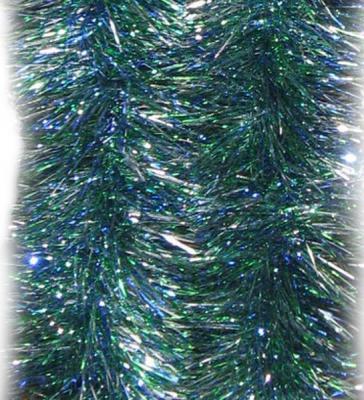 Новогоднее украшение Winter Wings мишура разноцветная 10х200 см