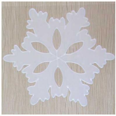 Наклейка-панно гелевая, декоративная, на стекло, 1 шт. в пакете, 16х16 см, 4 вида