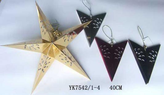 Новогоднее украшение Winter Wings Рождественская звезда 40 см в ассортименте