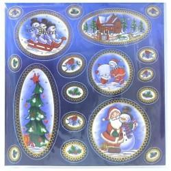 Наклейка Winter Wings панно Новогодние мотивы 29,5x29,2 см N09288