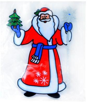 Наклейка Winter Wings Дед мроз 25х33 см наклейки интерьерные winter wings наклейка для декора me to you