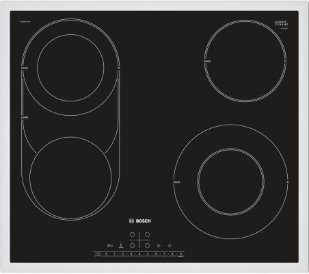 Варочная панель электрическая Bosch PKM642FP1R черный варочная панель bosch pkf651fp1e