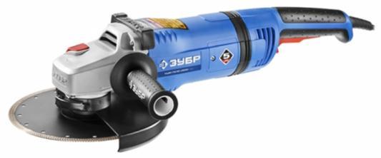 Углошлифовальная машина Зубр УШМ-П230-2600 ПВСТ 230 мм 2600 Вт углошлифовальная машина зубр ушм 230 2100 пм3 230 мм 2100 вт