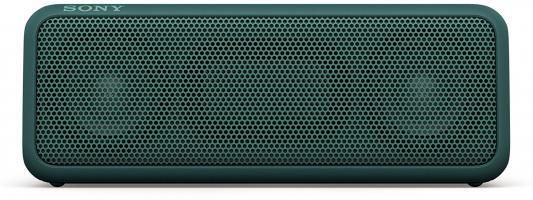 Портативная акустика Sony SRS-XB3 Mono bluetooth 30Вт зеленый