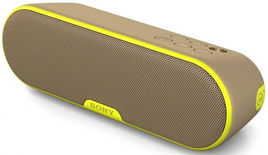 Портативная акустика Sony SRS-XB2 Mono bluetooth 9Вт коричневый