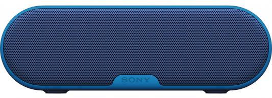 Портативная акустика Sony SRS-XB2 Mono bluetooth 9Вт синий