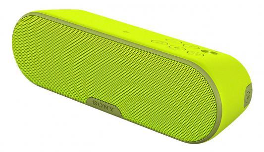 Портативная акустика Sony SRS-XB2 Mono bluetooth 9Вт желтый