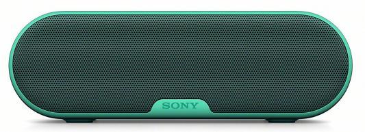 Портативная акустика Sony SRS-XB2 Mono bluetooth 9Вт зеленый