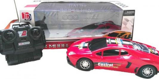 Машинка на радиоуправлении Shantou Gepai 4канала, 558-06 пластик от 3 лет розовый 6927713513501