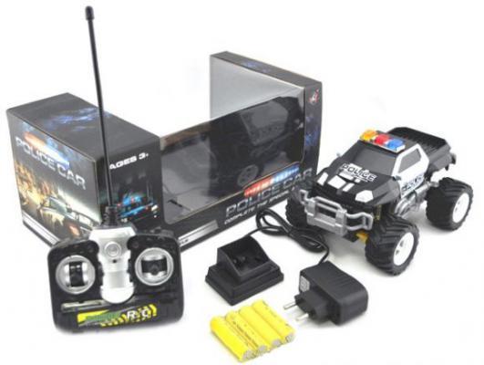 Машинка на радиоуправлении Shantou Gepai Полиция пластик от 3 лет черный