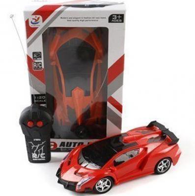 Машинка на радиоуправлении Shantou Gepai YF666-3 пластик от 3 лет красный Р40146