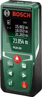 Дальномер Bosch PLR 25 25 м 0603672521 дальномер bosch plr 50 c 0603672220