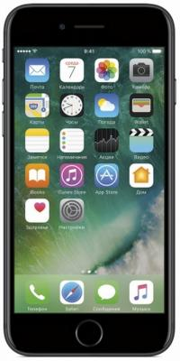 "Смартфон Apple iPhone 7 черный 4.7"" 32 Гб NFC LTE Wi-Fi GPS 3G MN8X2RU/A"