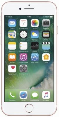 "Смартфон Apple iPhone 7 розовое золото 4.7"" 128 Гб NFC LTE Wi-Fi GPS 3G MN952RU/A"