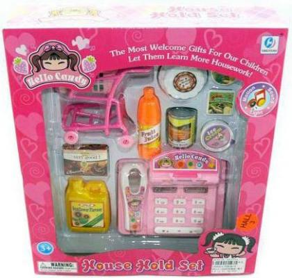 Игровой набор Shantou Gepai Супермаркет Кэнди (свет, звук) YH838-5 стоимость