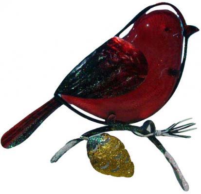 Подсвечник Winter Wings Птичка 15х14 см N162108 подсвечник winter wings новогодняя сказка 12 5х15 3 см n162162 в ассортименте