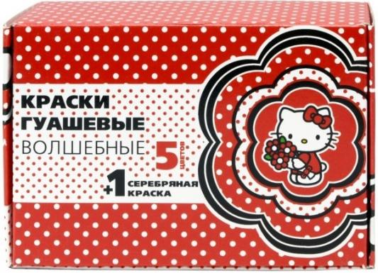 Гуашь Action! Hello Kitty 5 цветов + серебро