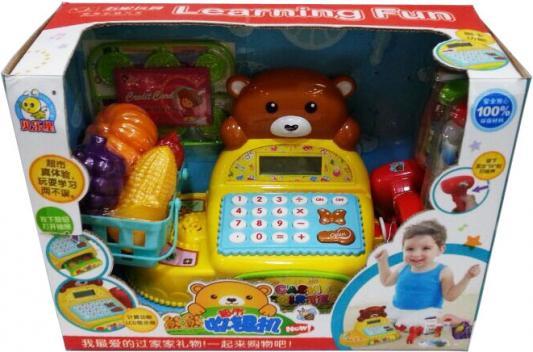 Игровой набор Shantou Gepai касса «Медвежонок» 24091