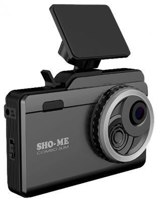 """Видеорегистратор Sho-Me Combo Slim 3.5"""" 130° G-сенсор microSD microSDXC"""