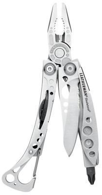 Мультитул Leatherman Skeletool 7 функций 100мм сталь 420НС серебристый 830920