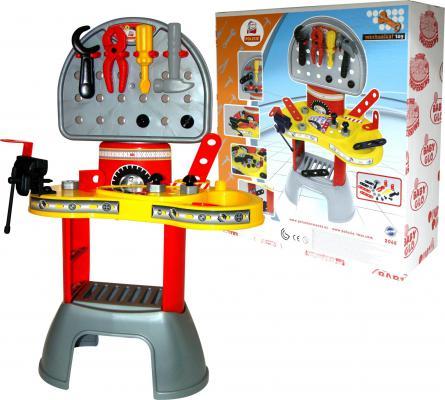 Игровой набор ПОЛЕСЬЕ Механик-макси 2 20 предметов 43238 мастерская игрушечная полесье полесье набор инструментов механик